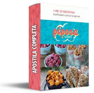 apostila curso pipoca gourmet