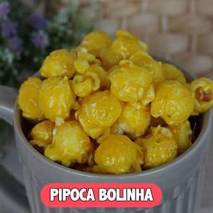 Pipoca Gourmet Bolinha